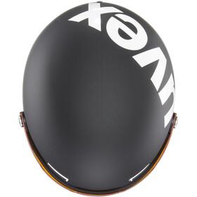 UVEX hlmt 500 Visor Kask, black-white mat